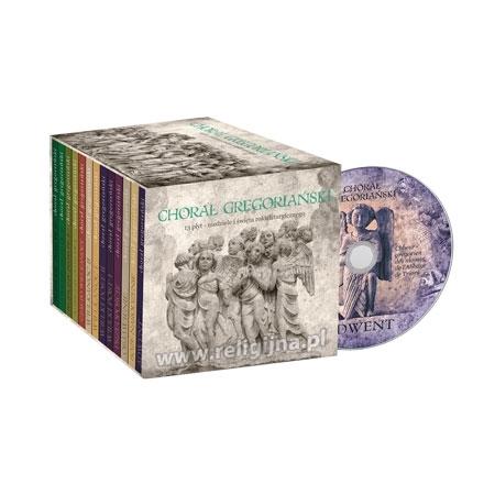 Chorał gregoriański. Kolekcja 13 płyt CD na wszystkie niedziele roku liturgicznego