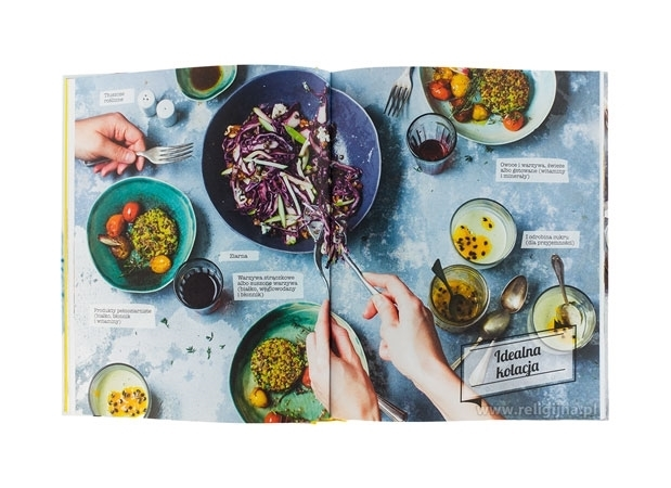 Moja kuchnia wege. Sprawdzone przepisy na wyśmienite potrawy - zawartość książki