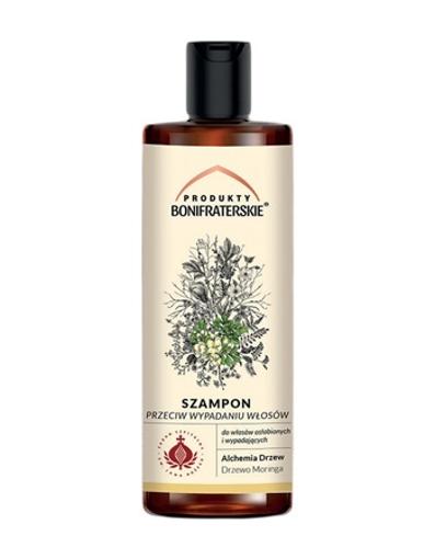Szampon przeciw wypadaniu włosów. Kosmetyk. 200 ml : Preparaty ziołowe