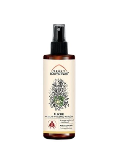 Eliksir przeciw wypadaniu włosów. Kosmetyk. 100 ml : Preparaty ziołowe