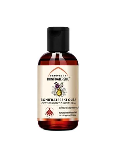 Bonifraterski olej żywokostowy z boswellią. Kosmetyk, 100 ml : Preparaty ziołowe