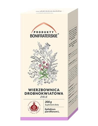 Wierzbownica drobnokwiatowa, ziele : Produkty Bonifraterskie : Preparaty ziołowe